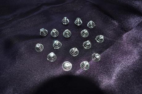 Vlasenky - špiraly diamantiky,