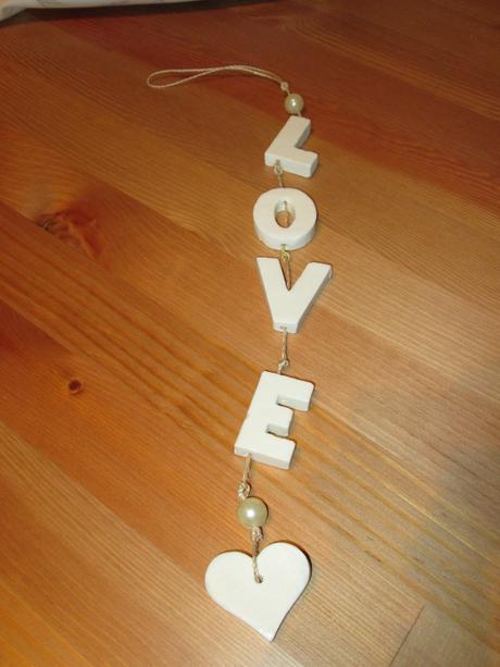 Krátká girlanda Love,