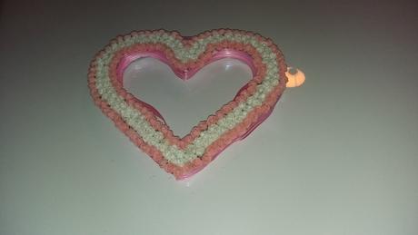 srdce z pěnovych Růžiček,