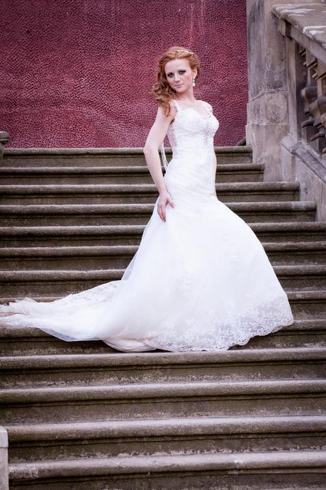 Svatební šaty šité na zakázku v Irsku, 34