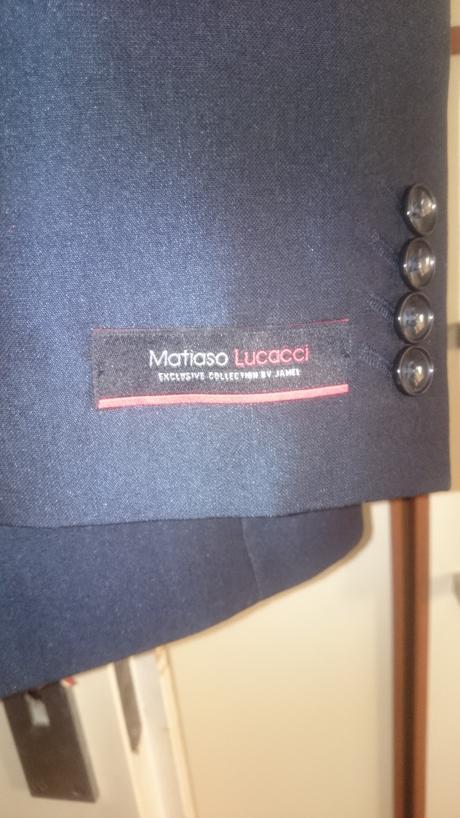 Značkový pánsky oblek č.48 Matiaso Lucacci , 48