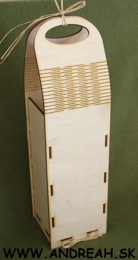 Krabička na víno,