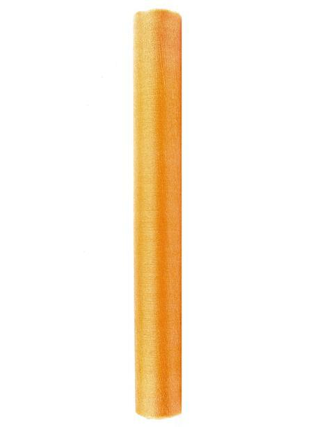 Organza 0,36x9 m - zlatá,