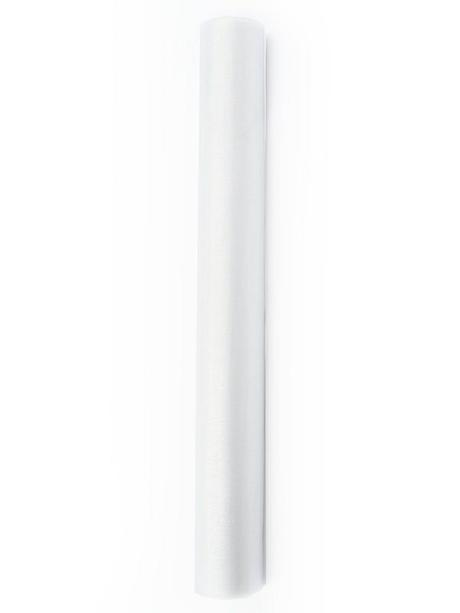 Organza 36 cm x 9 m bílá,