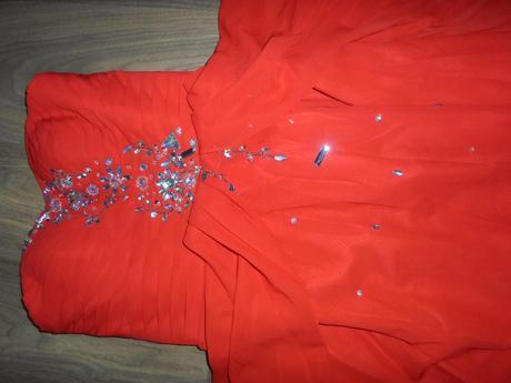 Červené šaty - nenosené s visačkou, 38