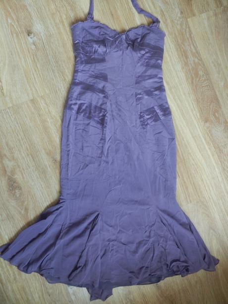 Dámské fialové šaty Karen Millen, 38
