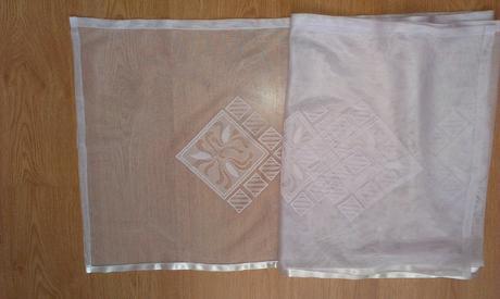 Biela záclona - nepoužitá (poštovné v cene),