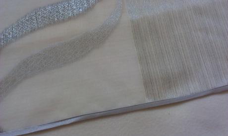 Sivá záclona - nepoužitá (poštovné v cene),