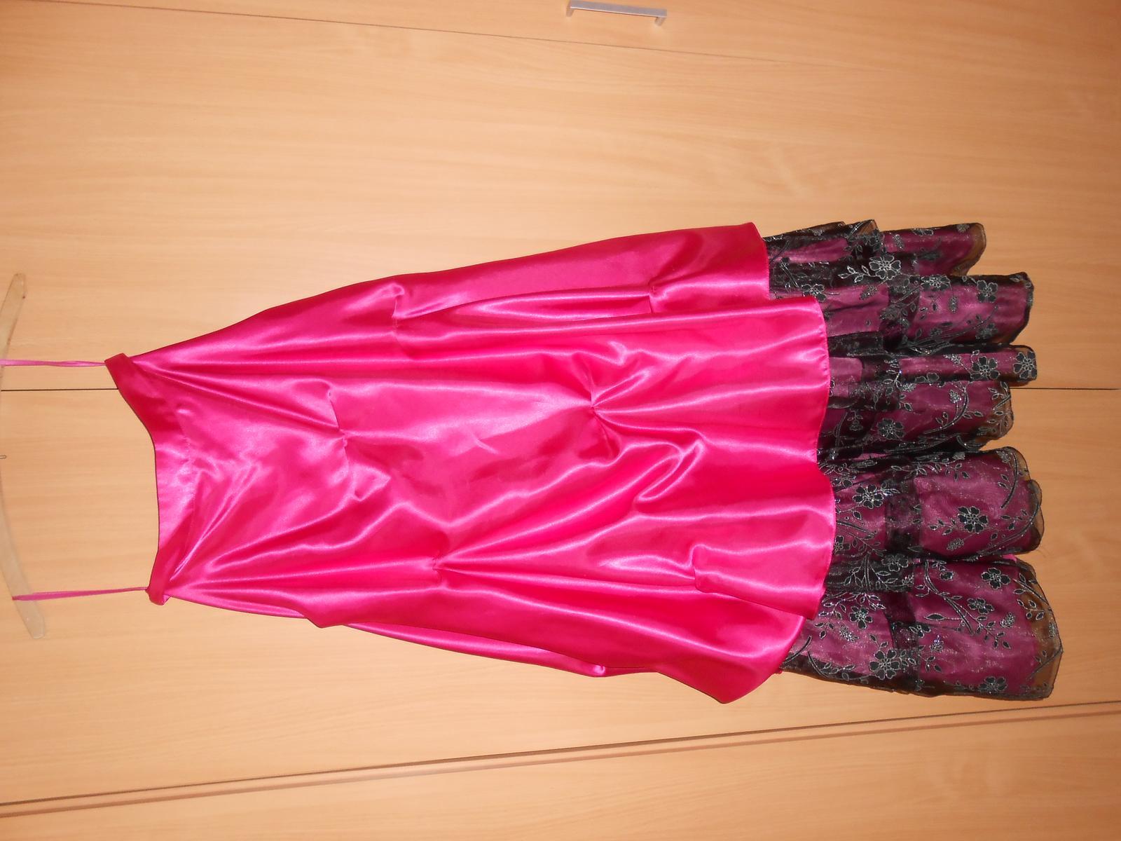 Korzetové šaty ružové d75e61929f