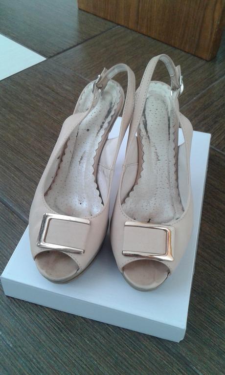 Krsne kozene sandalky vel.37, 37