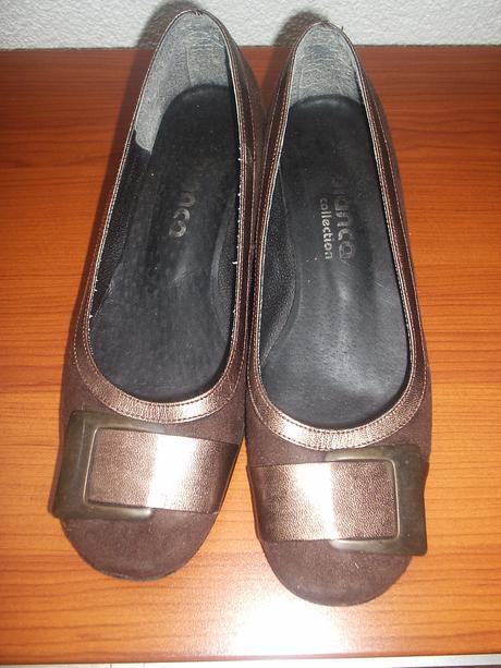 Pekné tmavohnedé topánky zn. Bianca veľ. 35, 35