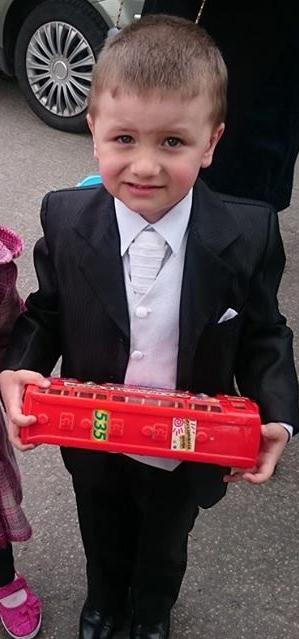 detská svadobná vesta+kravata+vreckovka, 116