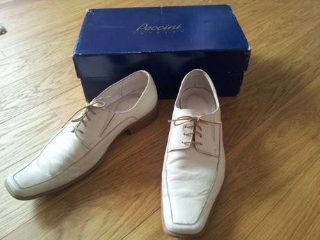 Peccini - kožené svatební boty , 43