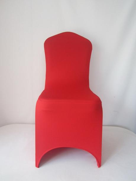 Prenájom - univerzálny návlek na stoličku červený,