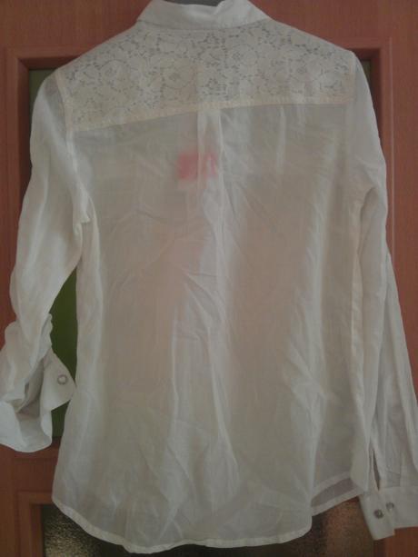 Košeľa, blúzka s čipkou Kotton , 34
