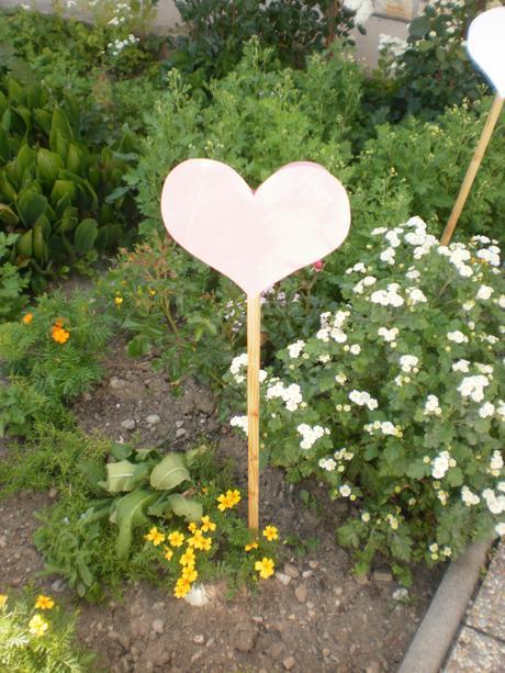 svadobné zahradne srdiečka,