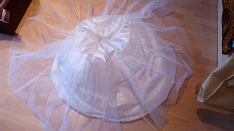 Svadobné šaty - čipka, tyl 38, 40