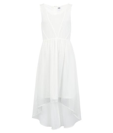 Bílé šaty Vero moda, vhodné jako popůlnoční, 36