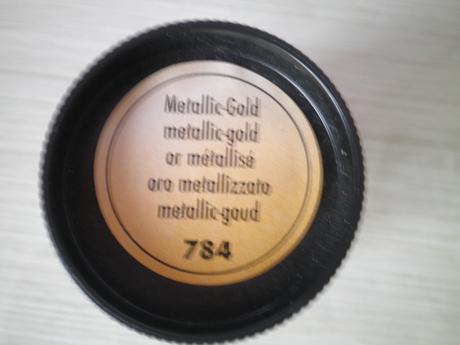Zlatá barva na textil,