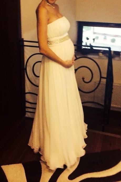 Tehotenské svadobné šaty, 36