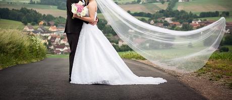 svatební šaty madora krajkové s vlečkou vel.+-40, 40