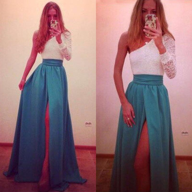 2958ce852a5 Dlouhé společenské šaty