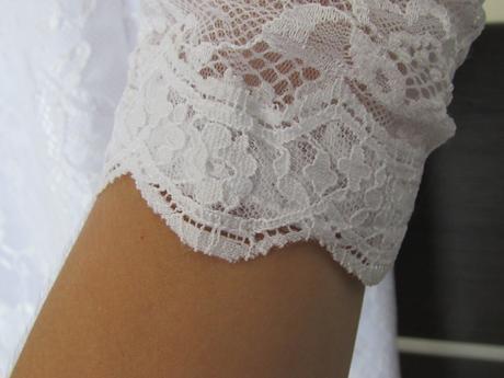 krátke krajkové šaty, 38