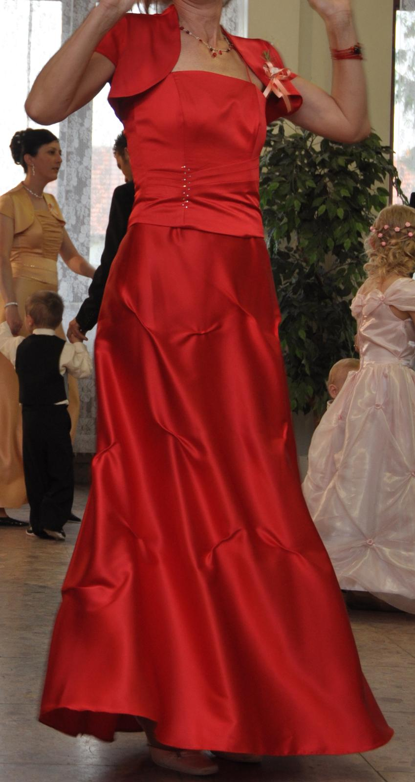 a77f9c43a3d7 Spoločenské šaty (dlhá sukňa + korzet + bolerko)