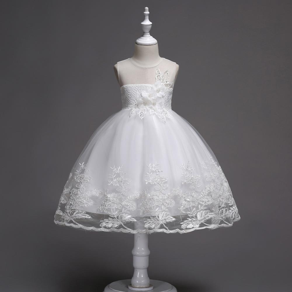 2bf835b71fe5 Detské šaty c001026 - biele (98 - 152)