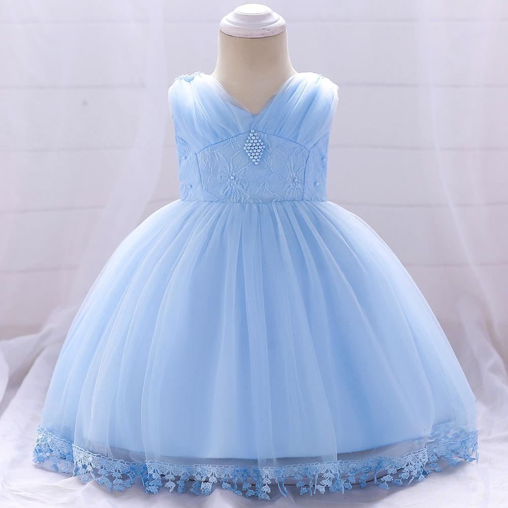 d7ae81e1e310 Detské šaty l1835xz - modré (74 - 98)