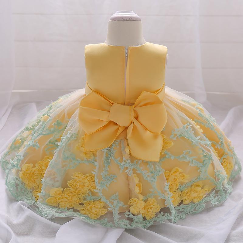 Detské šaty l1845xz - žlté (74 - 98) 9dd1ecda77c