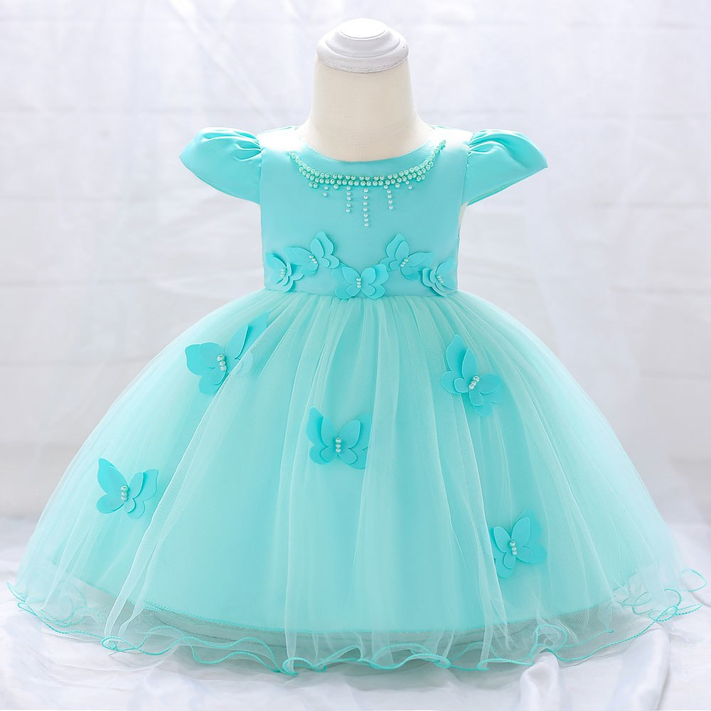 48e985b52 Detské šaty l1867xz - tyrkysové (74 - 98), 74 - 23,90 € | Svadobné shopy |  Mojasvadba.sk