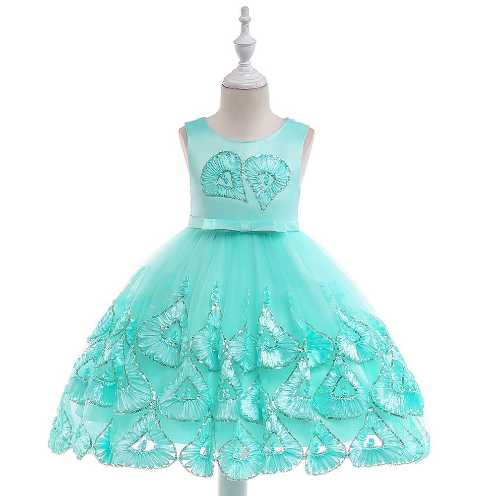 502cd00b0 Detské šaty l5033 - tyrkysové (110 - 146), 110 - 27,90 € | Svadobné shopy |  Mojasvadba.sk