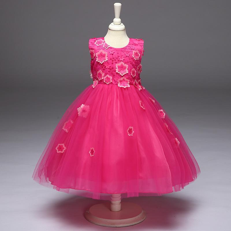 Detské šaty l8805 - ružové fceae6cd152