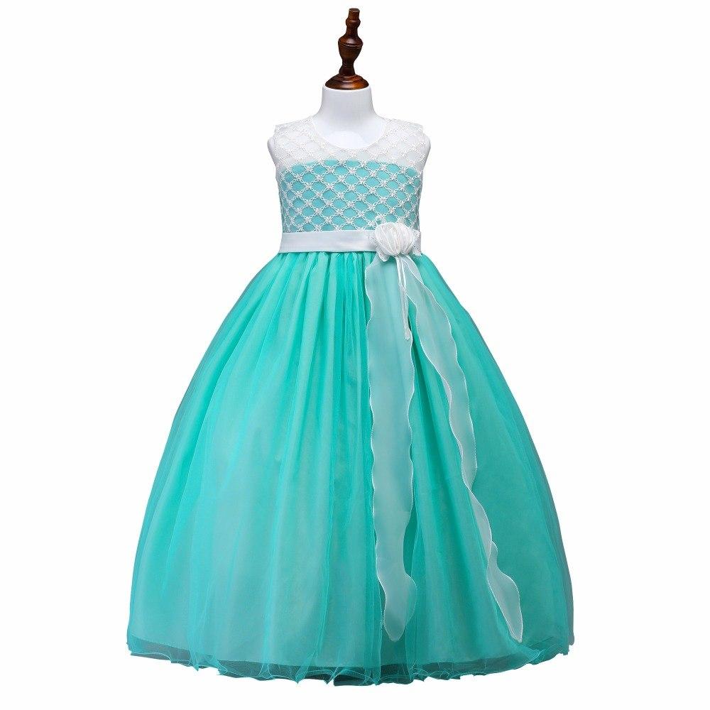Detské šaty lp74 - tyrkysové (122 - 164) d775d39e117