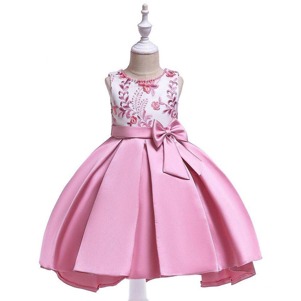825728408 Detské šaty t5087 - ružové (110 - 146), 134 - 25,90 € | Svadobné shopy |  Mojasvadba.sk