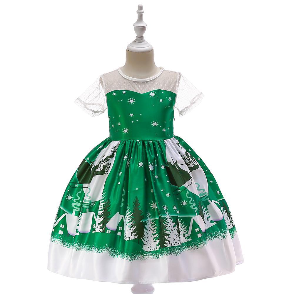 Detské vianočné šaty sd039e (98 - 146) 77fa9681045