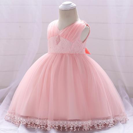 detské šaty L1835XZ - ružové (74 - 98), 80