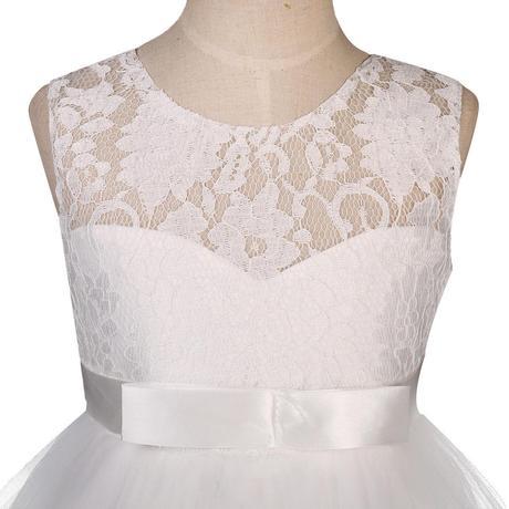 detské šaty Lace006 - skladom, 140