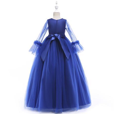 Detské šaty LP215 - skladom, 146