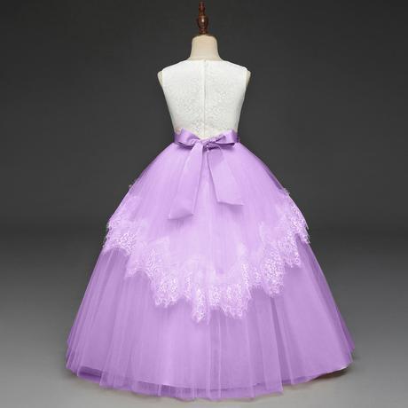 Detské šaty RC113861 - lila (110 - 152), 134