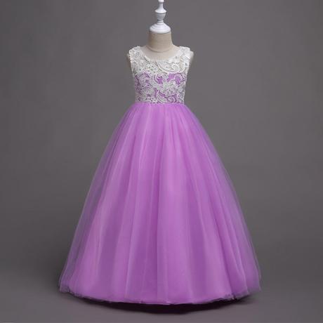 Detské šaty WGL-569 , lila (122 - 164), 128