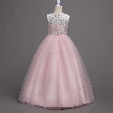 detské šaty WGL-569 , sl. ružové (122 - 164), 158