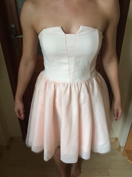 šaty pre družičku, S