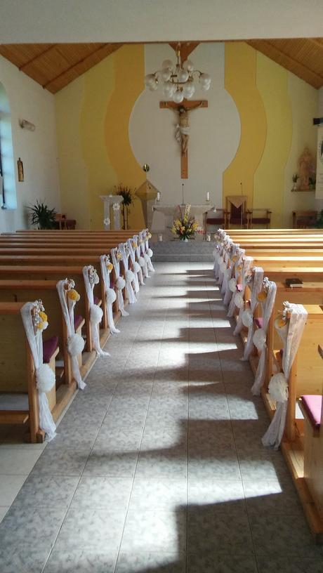 Výzdoba do kostola,