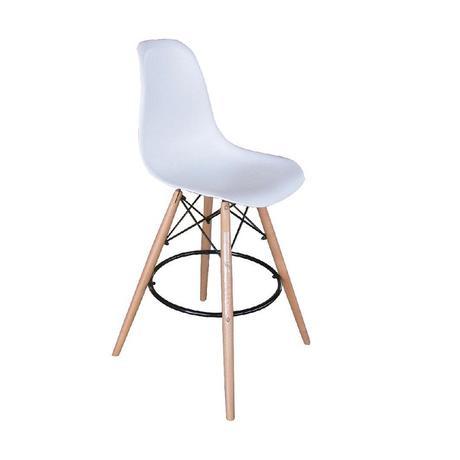 Barová stolička Carbry biela,