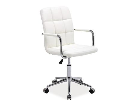 Kancelárska stolička Q-022 biela,