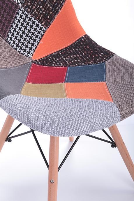 Stolička Enorm patchwork - SKLADOM,