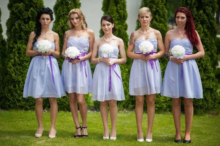stepankanovotna - Děkujeme za krásnou fotečku - krásné družičky v šatech z naší půjčovny :)