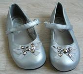 Stříbrné dětské balerínky , 26